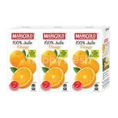 Marigold Uht 100% Orange Juice Drink (3X200Ml)
