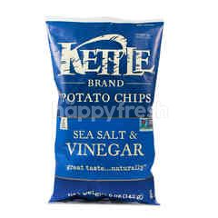 KETTLE Potato Chip Sea Salt & Vinegar