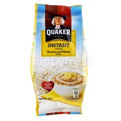 Quaker Banana & Honey Instant Oatmeal