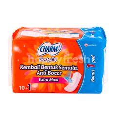 Charm Body Fit Extra Maxi Sanitary Pad