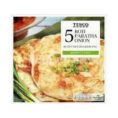 Tesco Onion Roti Paratha (5 Pieces)