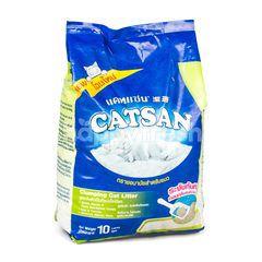 แคทแซน ทรายอนามัยสำหรับแมว สูตรจับตัวเป็นก้อนเมื่อเปียก