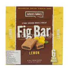 Nature's Bakery Stone Ground Whole Wheat Fig Bar Lemon