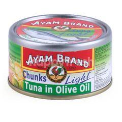 Ayam Brand Tuna Chunks in Olive Oil