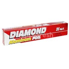 Diamond Aluminum Foil ( 25 Square Feet )