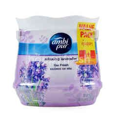 Ambi Pur Fresh Relaxing Lavender Scent Gel (2 Pieces)