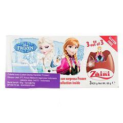 Zaini Princess Frozen Tripack Chocolate