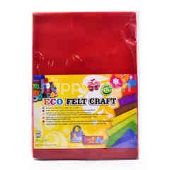 Renown A4 Eco Felt Craft Paper (10 Pieces)