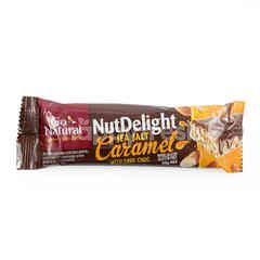 Go Natural Nut Delight Sea Salt Caramel with Dark Choc Bar