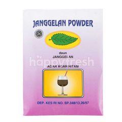 Janggelan Powder Black Pudding with Leaves