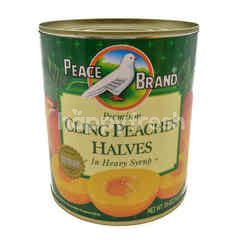 Peace Premium Cling Peaches Halves