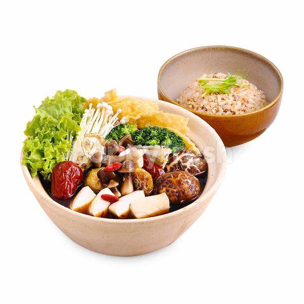 BMS Organics Herby Broth Pot With Multigrain Rice