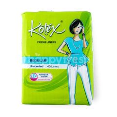 Kotex Regular Unscented Fresh Liners