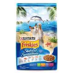 Friskies Makanan Kucing Sensasi Makanan Laut 1.2kg