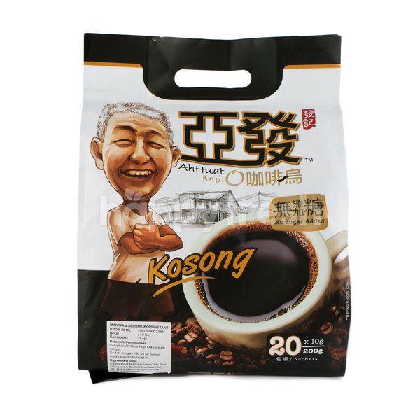 Ah Huat Black Coffee (Kosong) (20 Sachets)