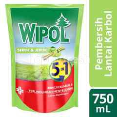 Wipol Lime & Lemongrass 5in1 Disinfectant Liquid
