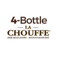 B-delicious La Chouffe Beer 4 Pcs