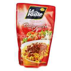 La Fonte Bolognese Sauce Pasta