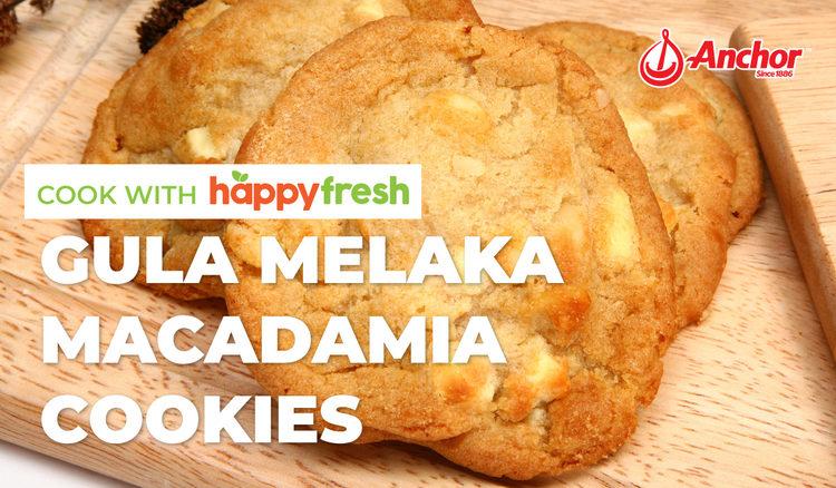 Gula Melaka Macadamia Cookies