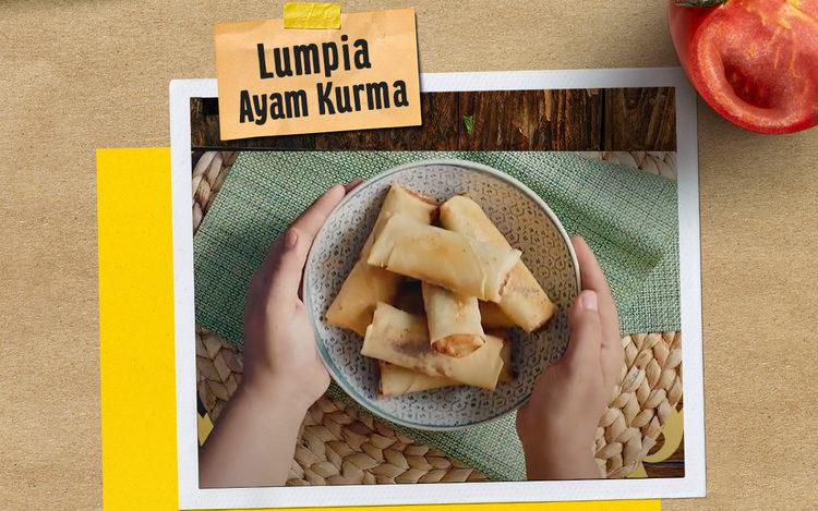Lumpia Ayam Kurma