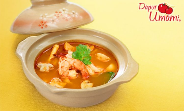 Tom Yum Seafood Umami