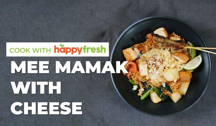 Mee Goreng Mamak with Cheese Recipe