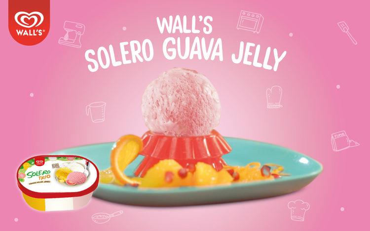 Wall's Solero Guava Jelly