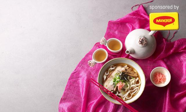 Udon Chachu Pork (อุด้งหมูชาชูหมื่นปี)
