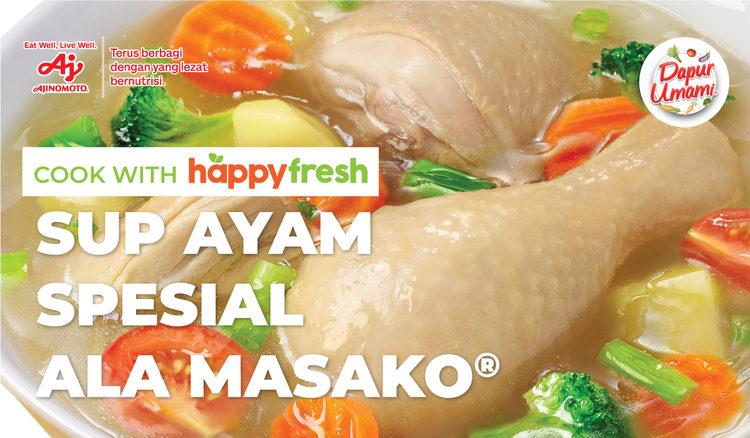 Sup Ayam Spesial Ala Masako®