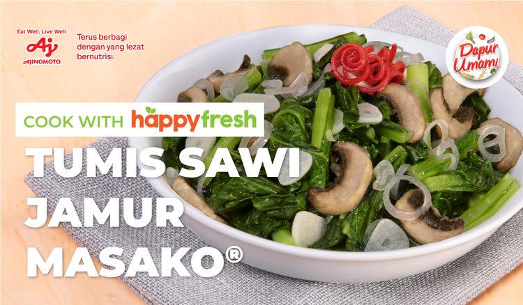 Tumis Sawi Jamur Ala Masako®