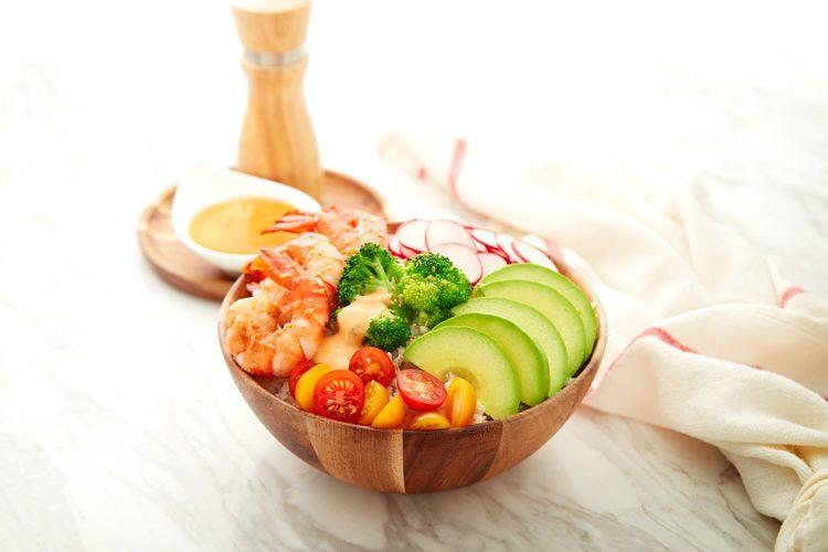 Broccoli and Shrimp Rice Bowl