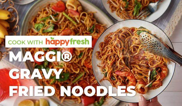 Gravy Fried Noodles