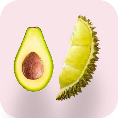 Avocados, Durian & Jackfruits