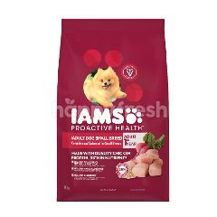 IAMS Dog Dry Food Puppy Small Breed 1.5KG Dog Food