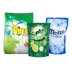 Unilever Rinso, Molto, Sunlight Paket Rumah Bersih 1