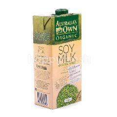 Australia's Own Organic Susu Kedelai Tanpa Gula