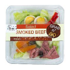 HOMEMADE Smoked Beef Caesar Salad