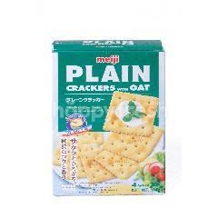 Meiji Plain Crackers With Oat (4 Packs)