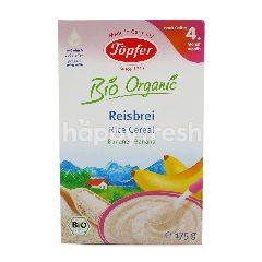 Topfer Bio Organic Rice Cereal Banana 4+