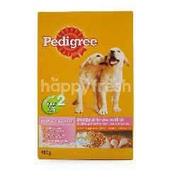 Pedigree Nutris All-in-One Rasa Ayam dan Telur untuk Anak Anjing 3-12 Bulan