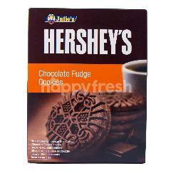 Julie's Hershey's Hershey's Biskuit Sandwich dengan Krim Cokelat