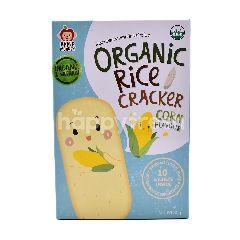 Apple Monkey Organic Rice Cracker (10 Sachet)