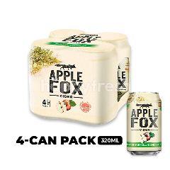 Apple Fox Cider Cans 4x320ml