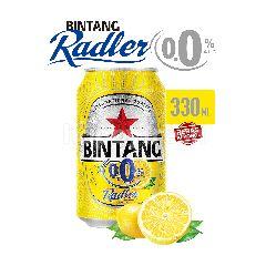 Bintang Radler Lemon 0.0% Alcohol Carbonated Malt Drink