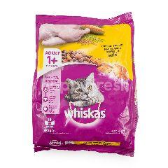Whiskas Makanan Kucing Rasa Ayam