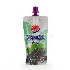 Sunglo Squeeze Smooth Blackcurrant Yoghurt