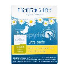 NatraCare Organic & Natural Ultra Pads Regular 23cm
