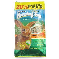 Best In Show Morning Sun Makanan Kelinci dengan Wortel  (1kg  bonus 200g)