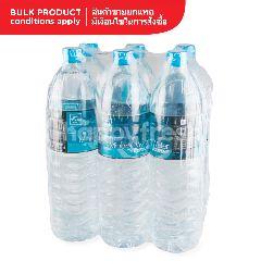 โฮม เฟรช มาร์ท น้ำแร่ธรรมชาติแหล่งสามโคก 1.5 ลิตร (แพ็ค 6)