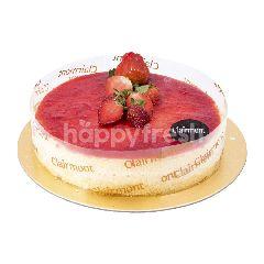 Clairmont Premium Strawberry Cheesecake 20x20